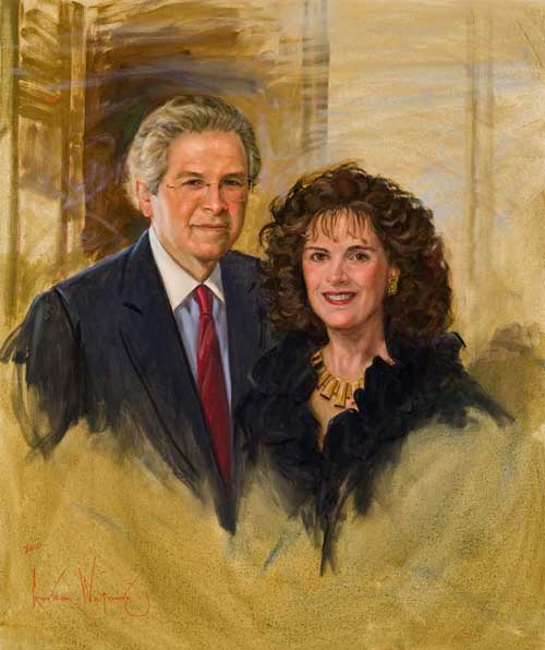 Portrait of Bill and Patty Gorelick