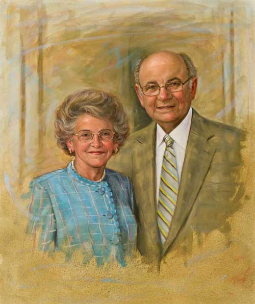 Portrait of Abraham and Rose Luski
